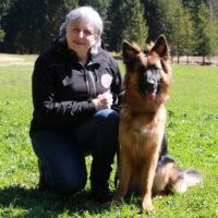 Doris mit Zera :